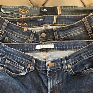 Lot of Jeans- 2 Atelier Notify and 1 J Brand.